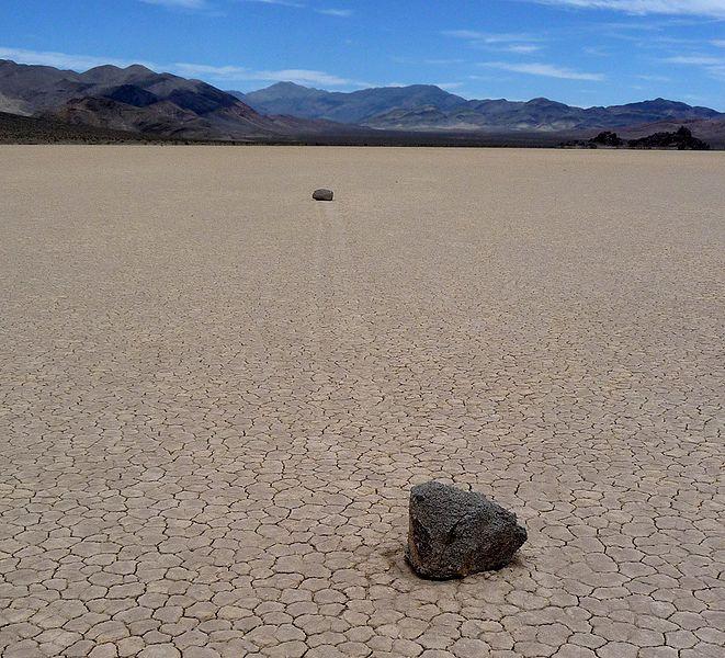 Death Valley's Sailing Stones