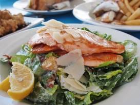 Salmon Salads with Vinaigrette