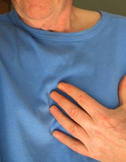 •	Pains or discomfort in the chest
