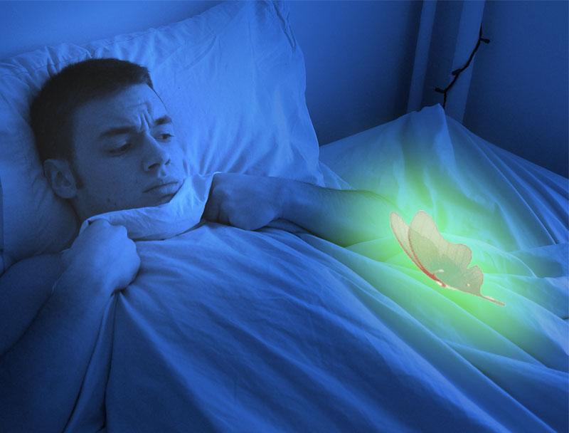 Inadequate sleep and bad dreams