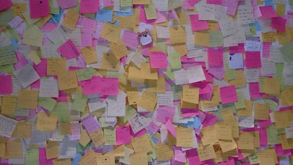 Don't underestimate the power of sticky notes
