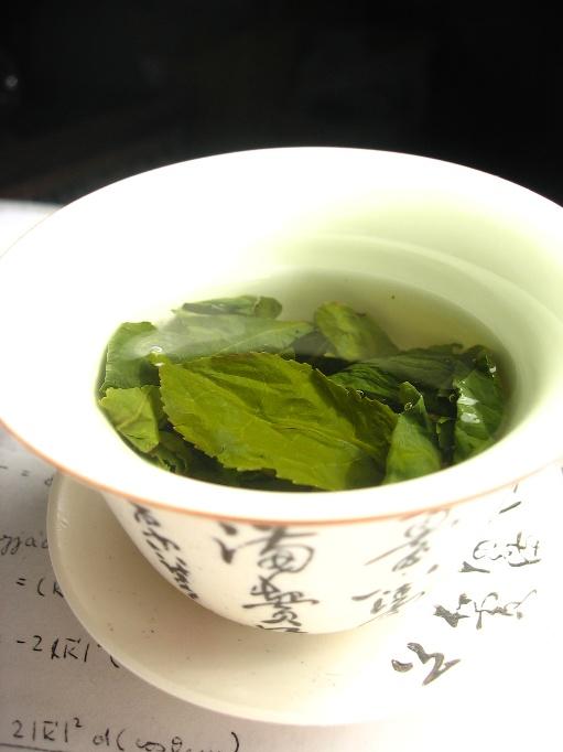 Green tea is a must