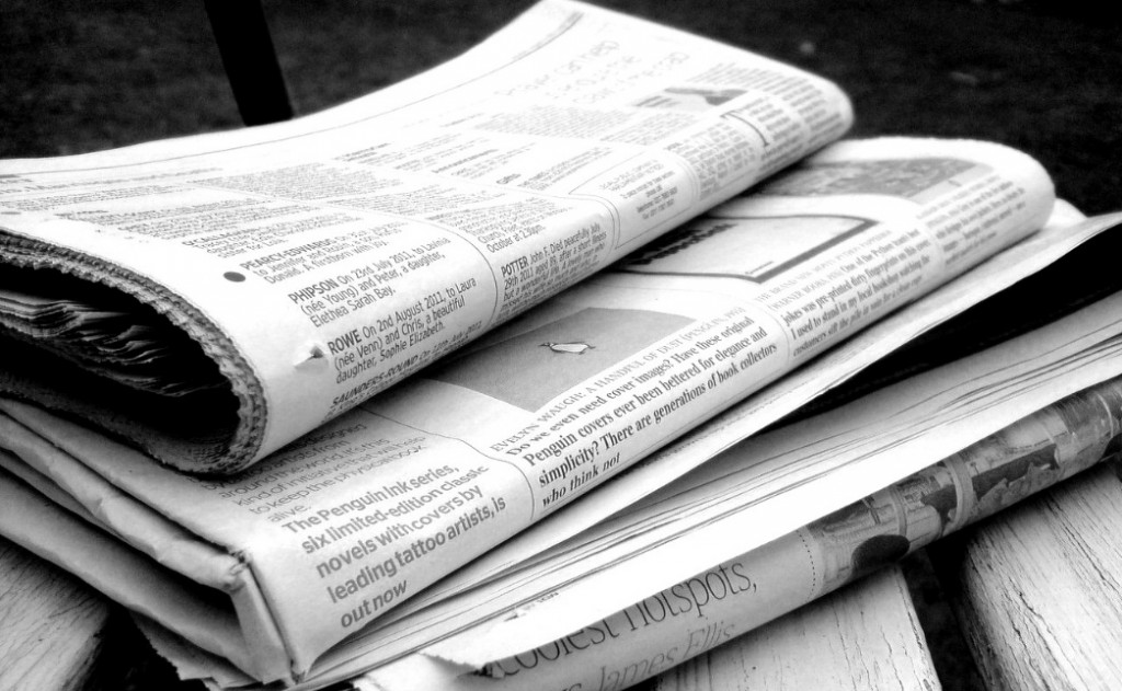 The newspapers and news are another useful sources