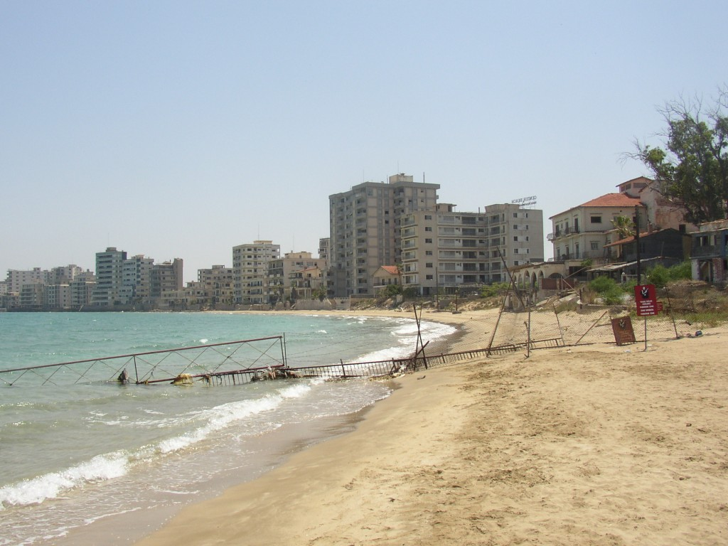 Varosha, the ghost resort town, Cyprus:
