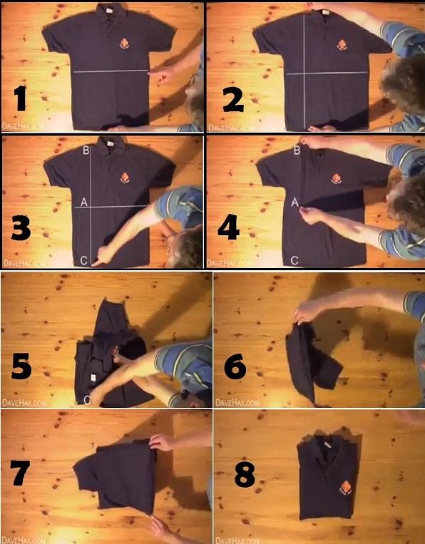 folding shirt
