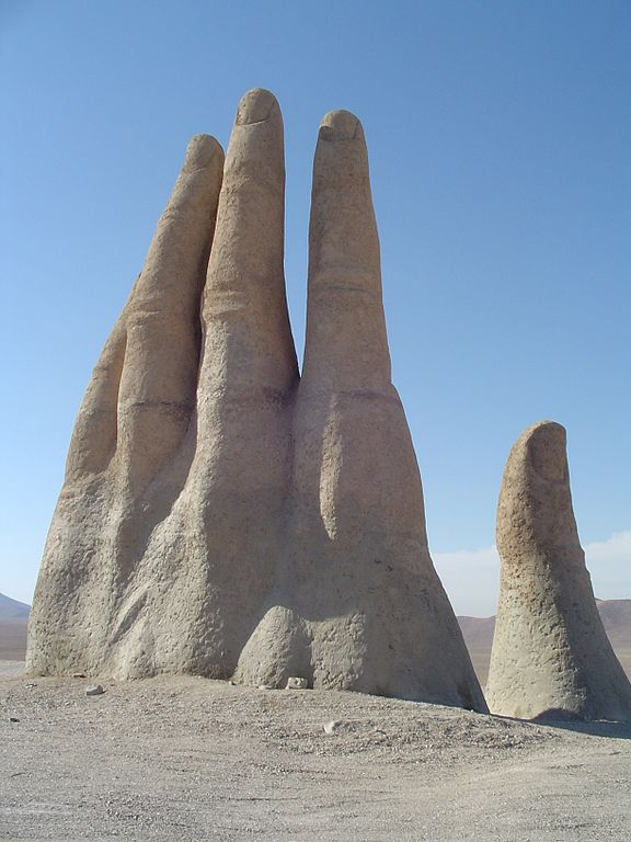 Hand of the Desert, Atacama Desert, Chile