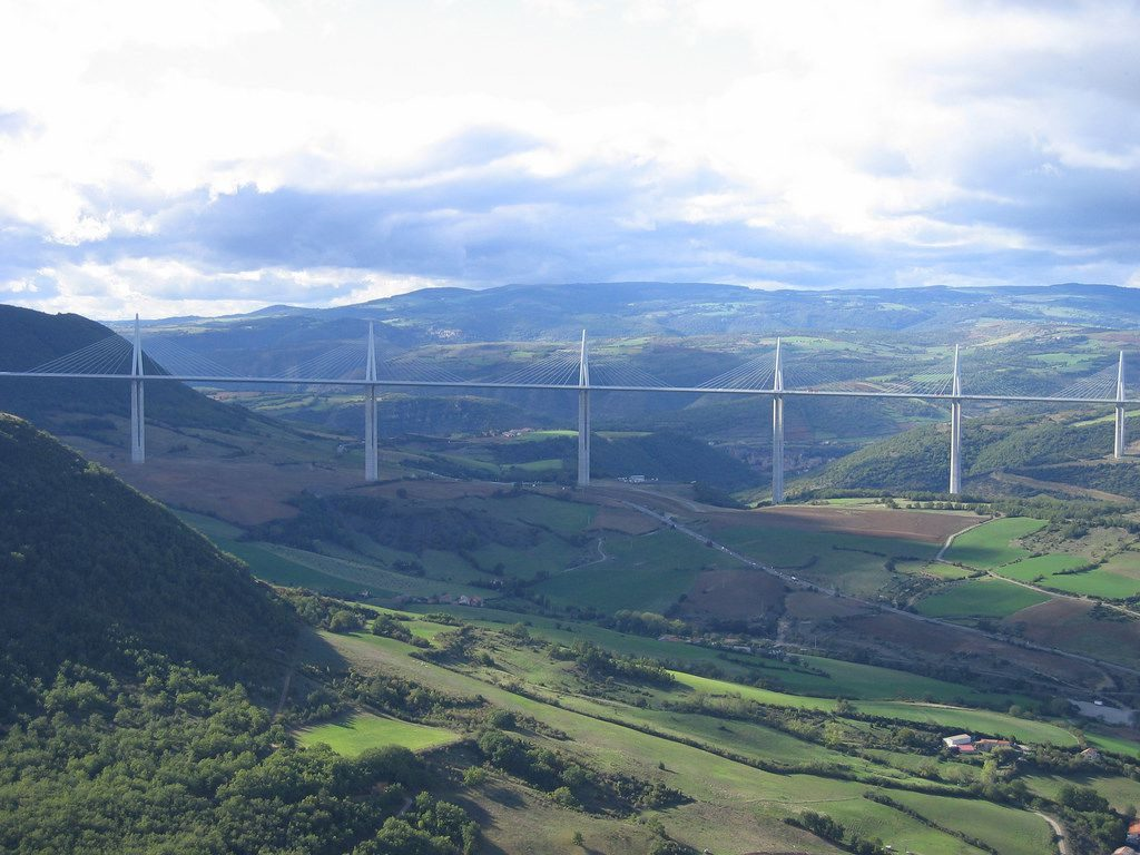 The Millau Viaduct, France