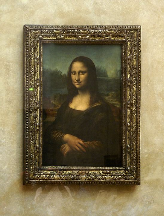The Mona Lisa and The Louvre
