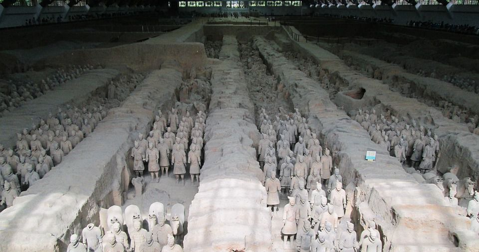 Mausoleum of first Qin Emperor
