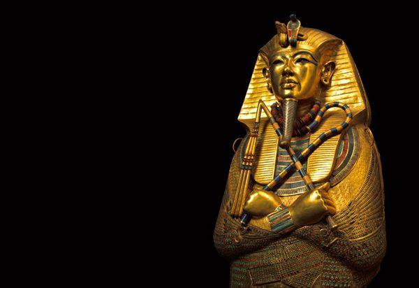 Pharaoh Tut's tomb