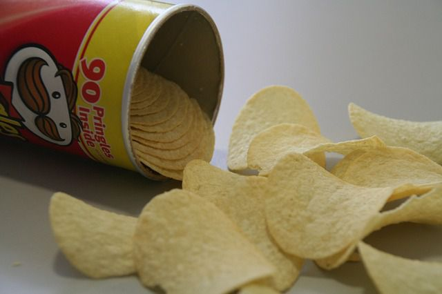 Pringles are not potato chips