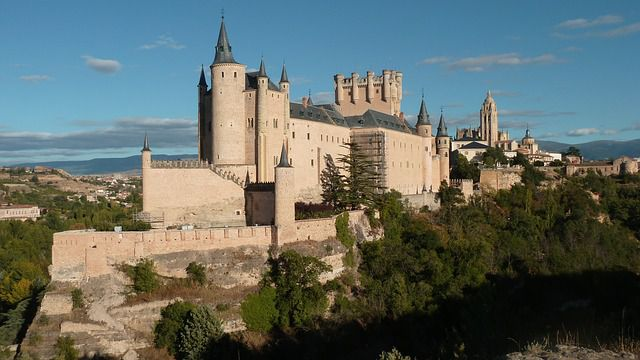 The Alcazar Castle, Spain